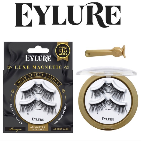 000c07e79f5 Eylure Makeup | Luxe Magnetic Baroque Accent Lashes | Poshmark